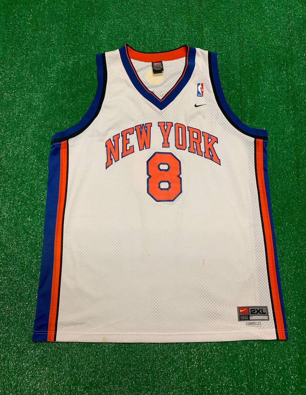 new style df1ce 2232e Jersey × Nike × Vintage Vintage Latrell Sprewell Swingman New York Knicks  Jersey Size Xxl $80