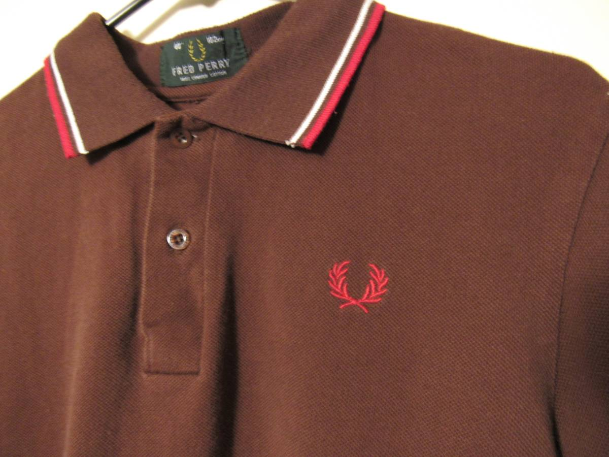 Fred Perry Vintage Crimson Polo Size L Polos For Sale Grailed