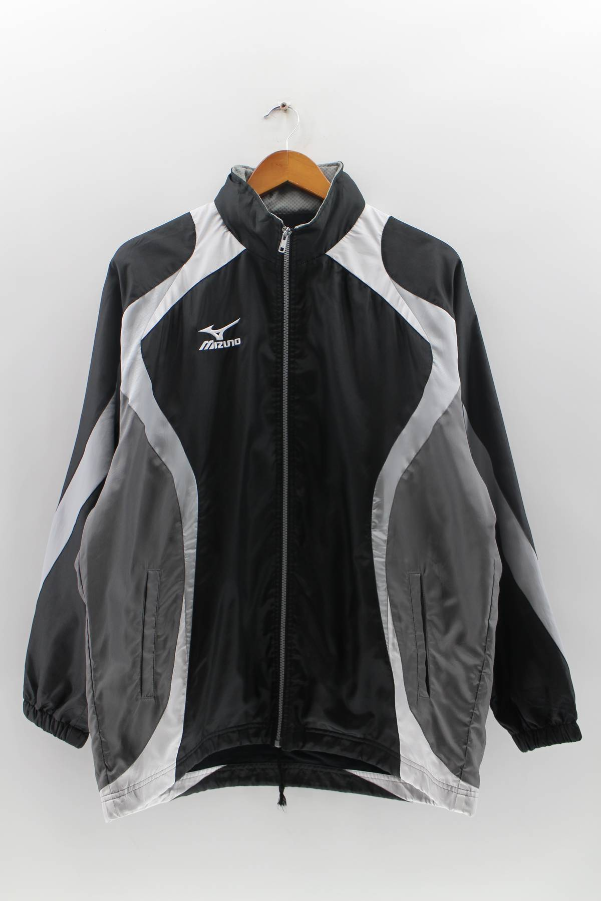 b75f5447e33d0 Mizuno Vintage Mizuno Windbreaker Jacket Unisex Medium Mizuno Track Top  Zipper 90's Jacker Mizuno Color Block Jacket Size M Size M $129