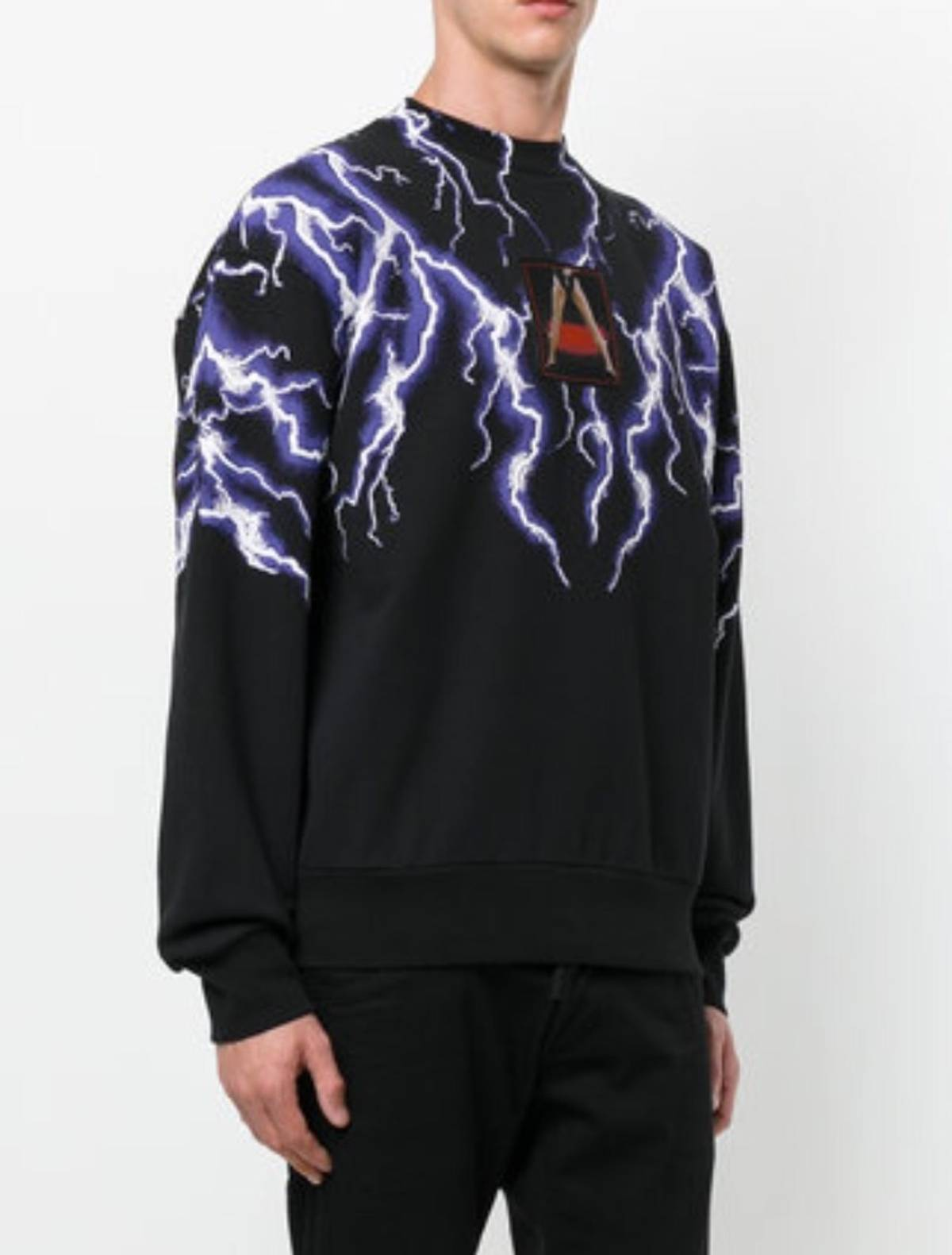 3f6be32b Alexander Wang Lightning Collage Sweatshirt Brandnew With Tags | Grailed