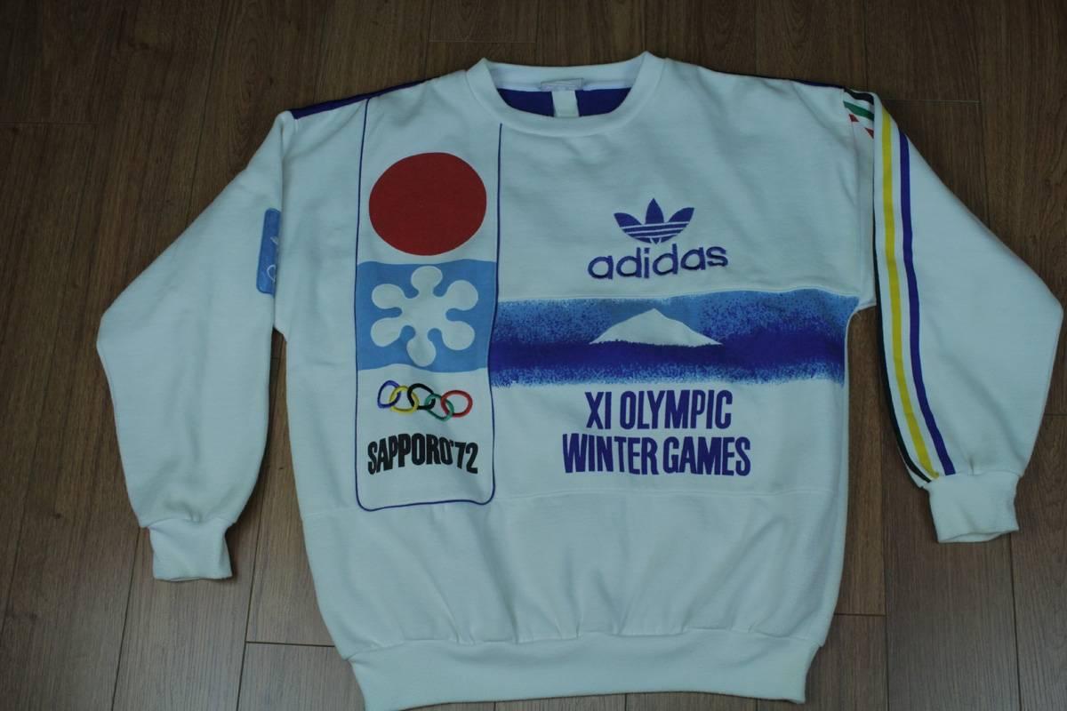 bd6a16242f3b3 Vintage Adidas Olympic Sweatshirt For Sale