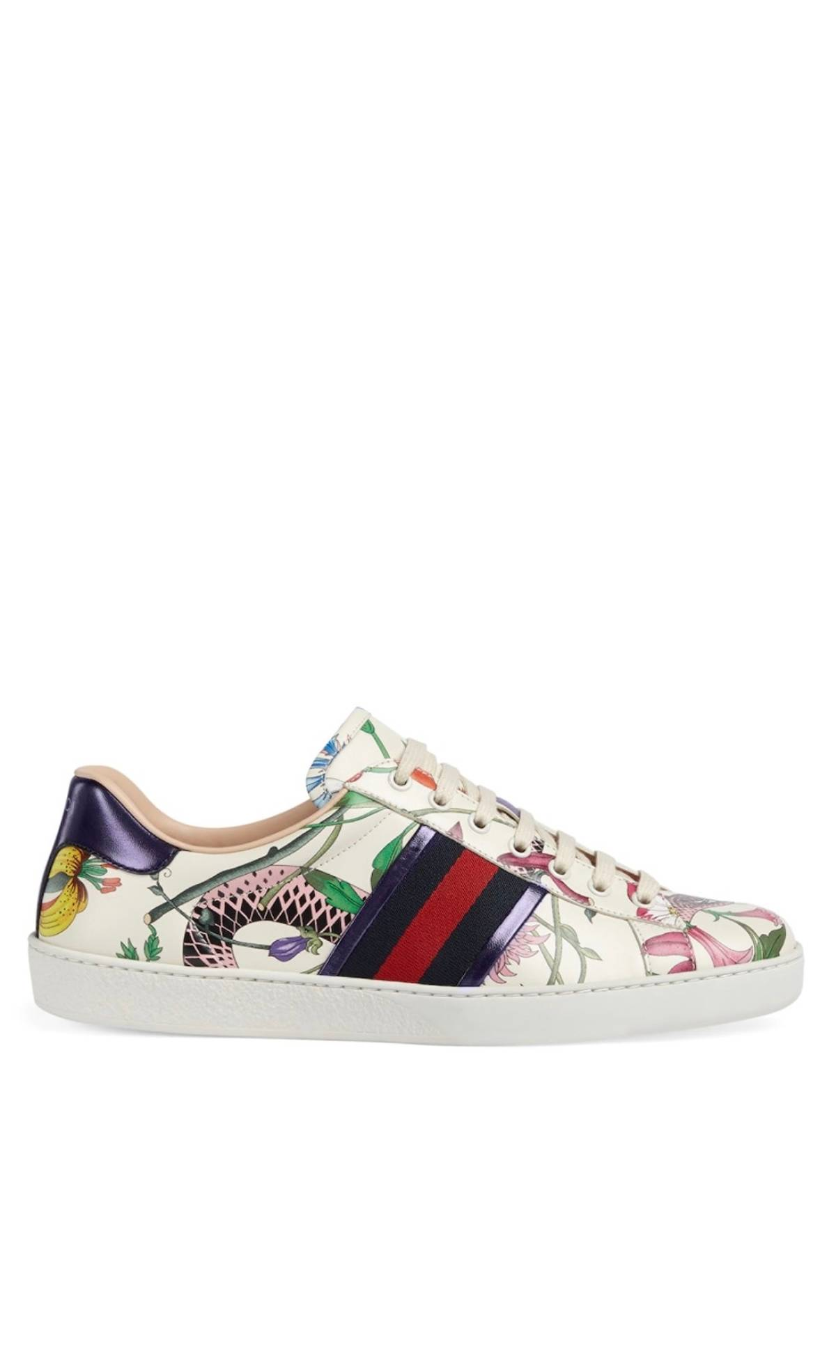 745bb6a360d Gucci Gucci Flora Snake Ace Sneakers