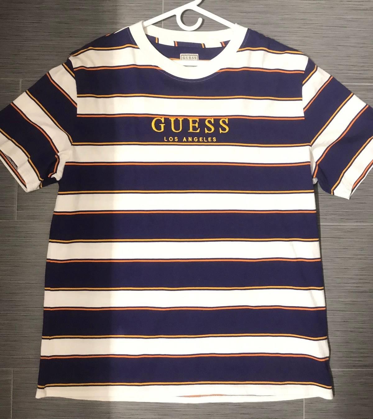 Guess Vintage Guess Striped Shirt Size L $40