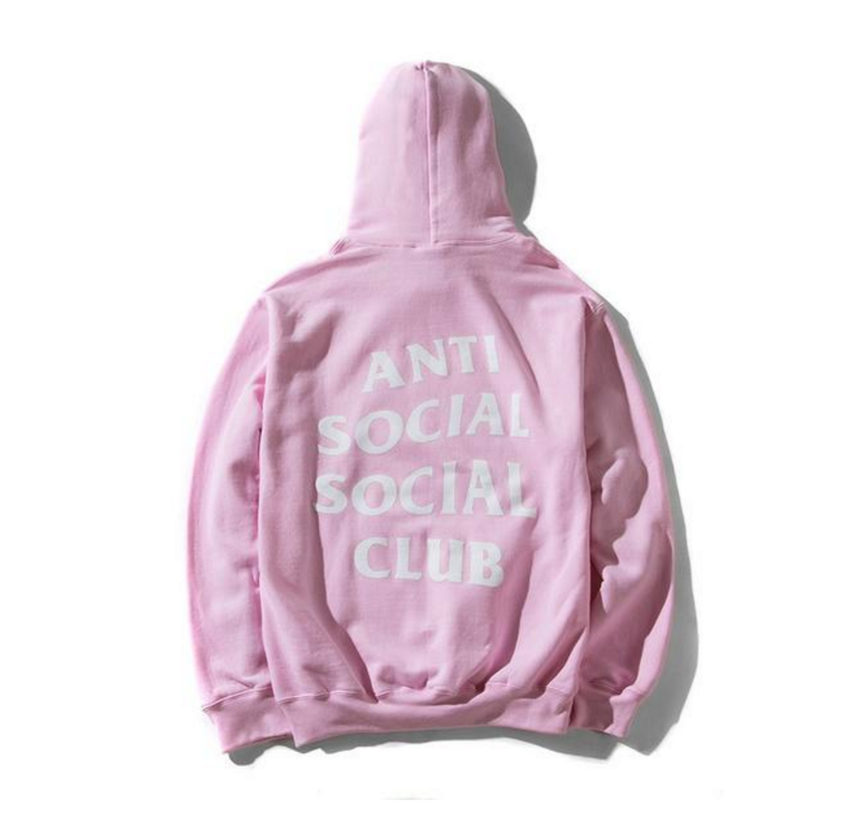 Antisocial Social Club Assc Know You Better Pink Hoodie Size L Zims Jaket The Doctor Black