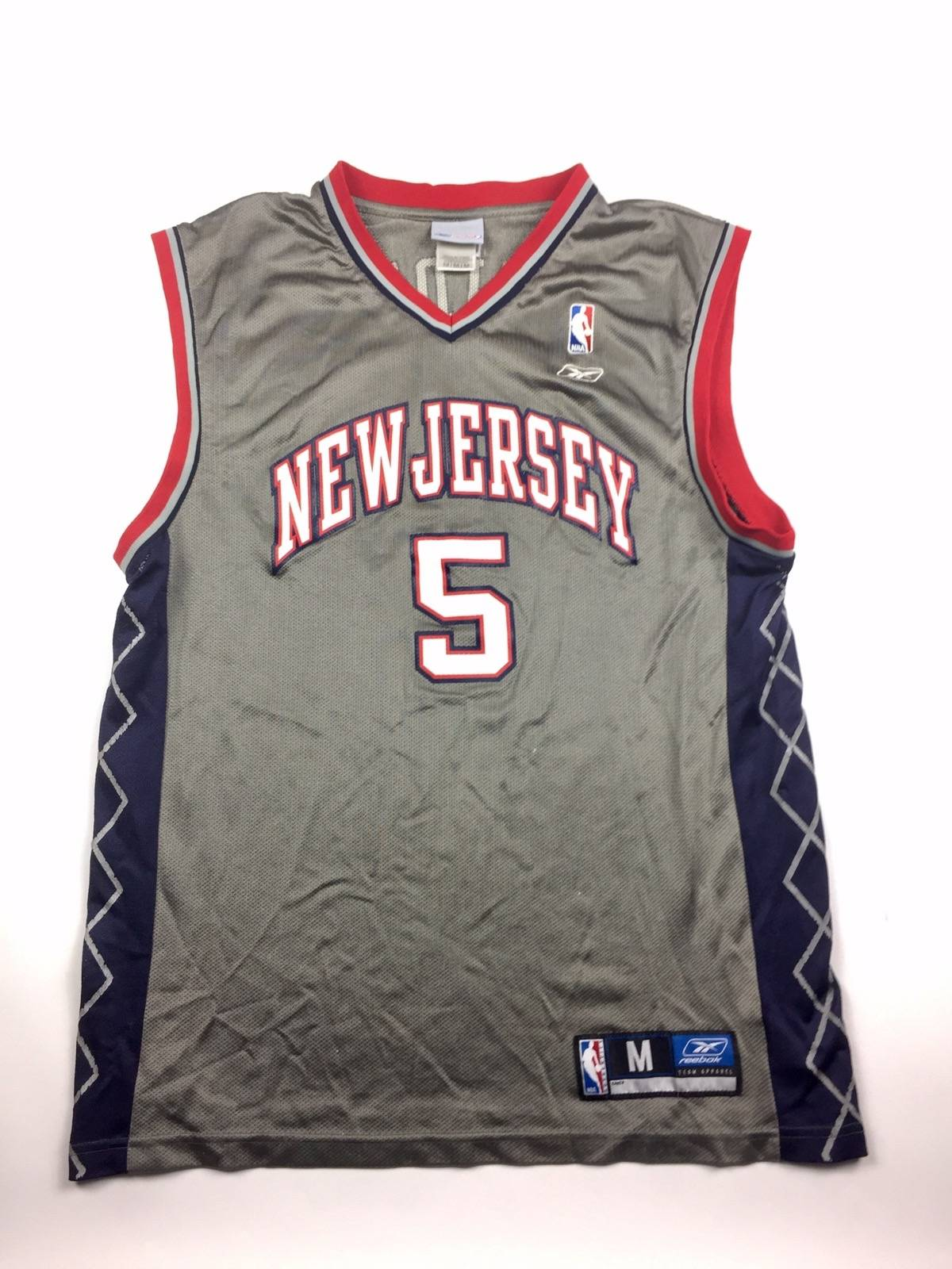 ea10dac0b Reebok Vintage Reebok Nba New Jersey Nets Jason Kidd Basketball Jersey