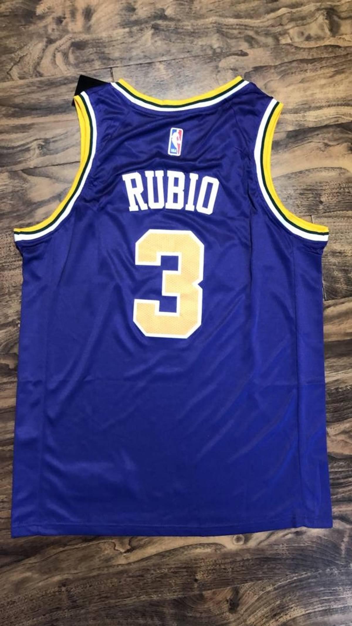 buy online a1788 90abb Nike Ricky Rubio Utah Jazz Jersey Size M $40
