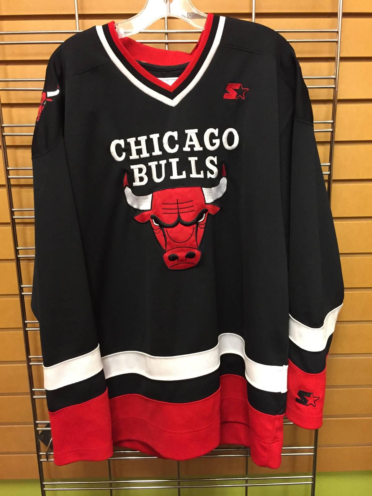 f004b4b0063576 Vintage Vintage Chicago Bulls Starter Hockey Jersey