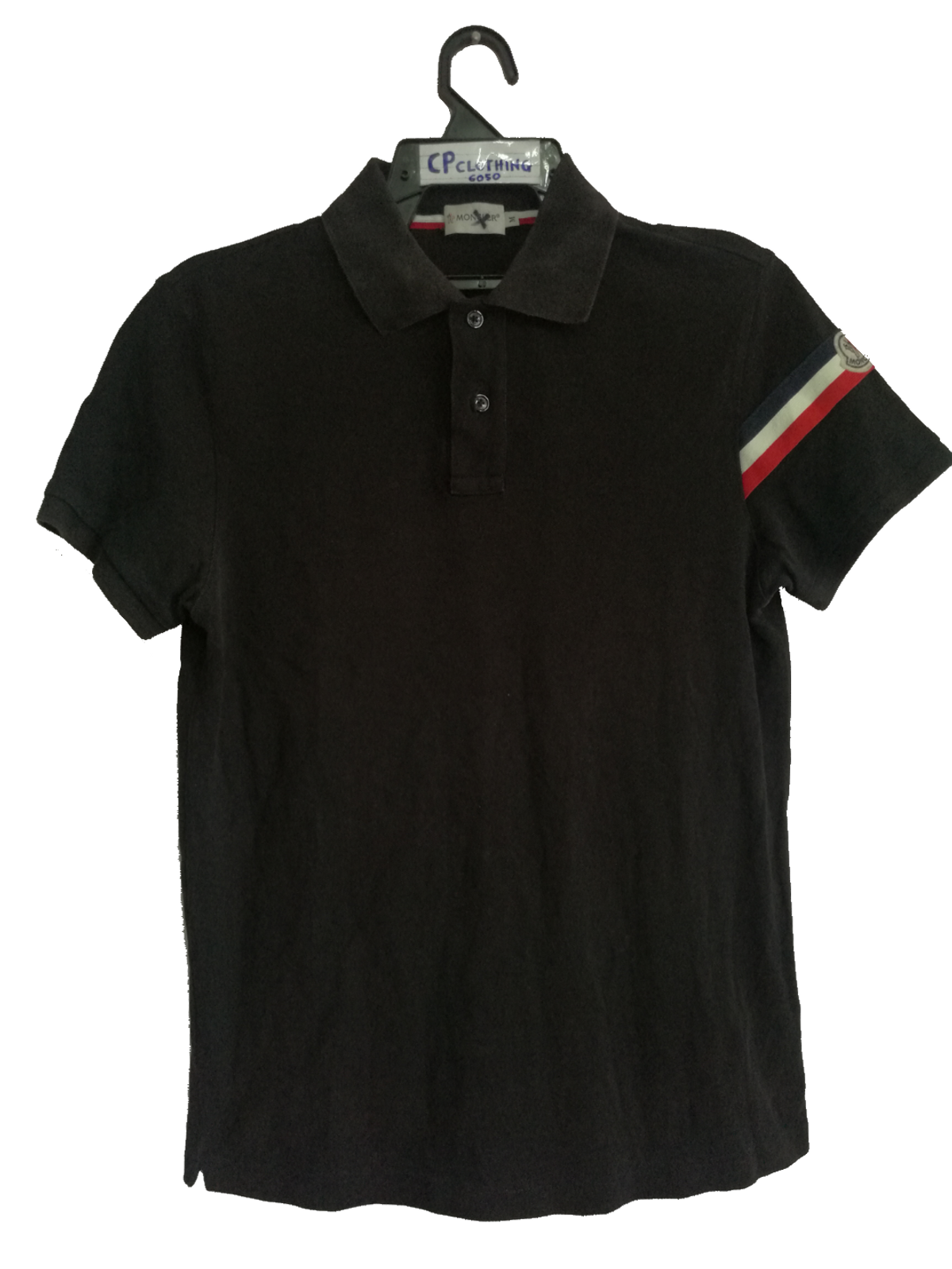 Moncler Moncler Polo Shirt With France Flag Stripe Size M Supreme