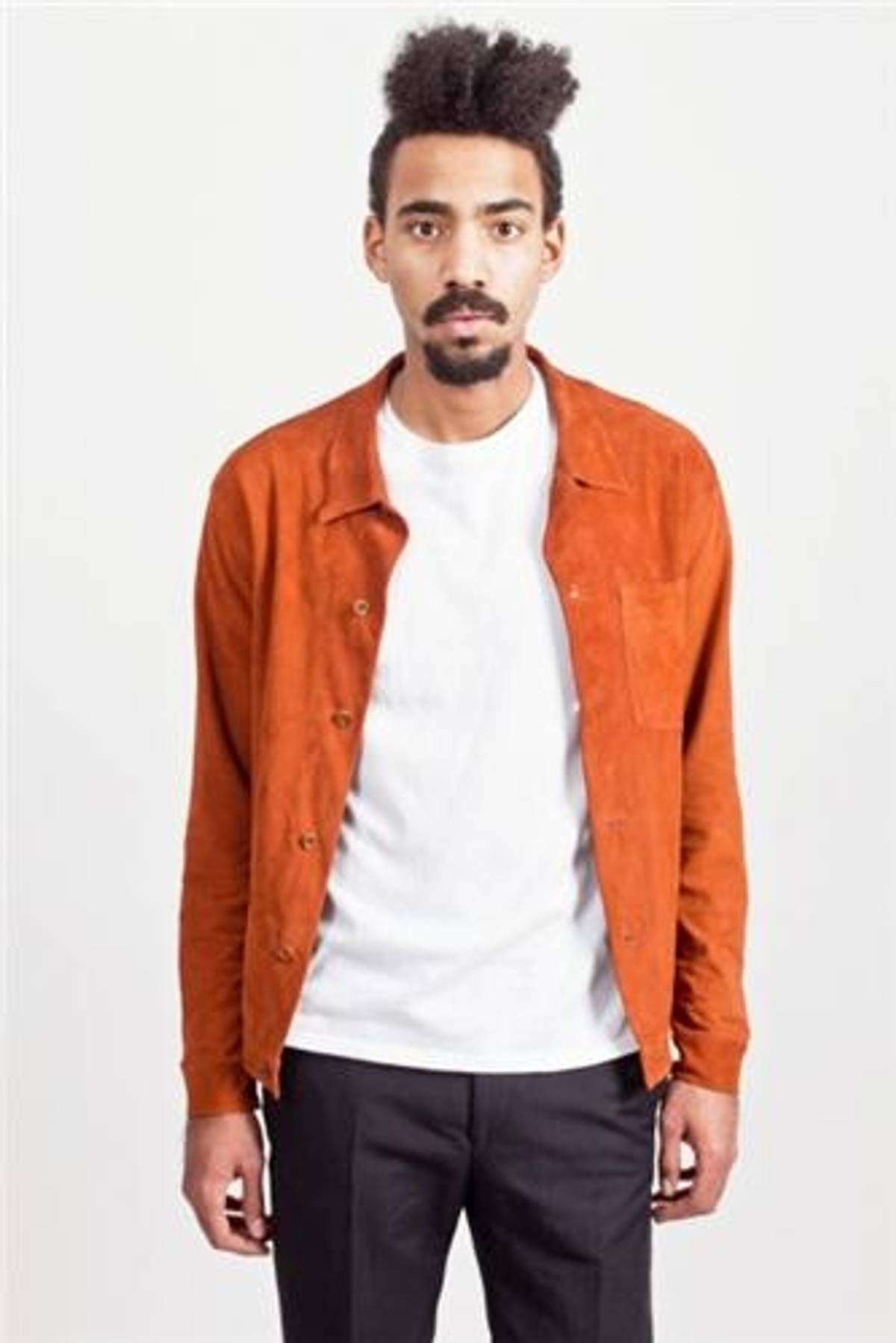 f7b00f86eb7ce Our Legacy Suede Jacket Terracotta Size s - Light Jackets for Sale - Grailed