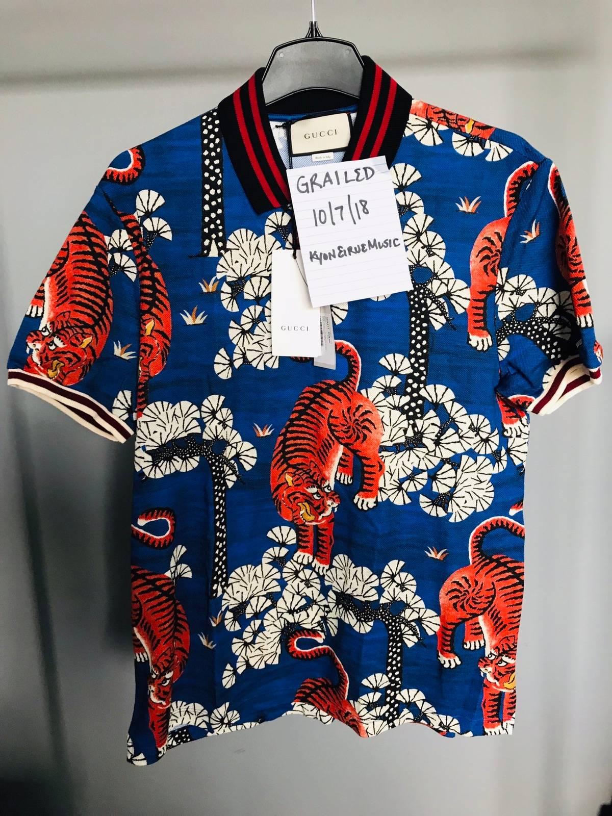 f8caed5197b0 Gucci Gucci Bengal Tiger Polo | Grailed