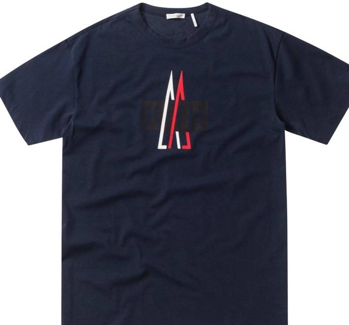 5b5871bfd4ca Moncler Kith X Moncler Navy T-Shirt Size m - Short Sleeve T-Shirts ...