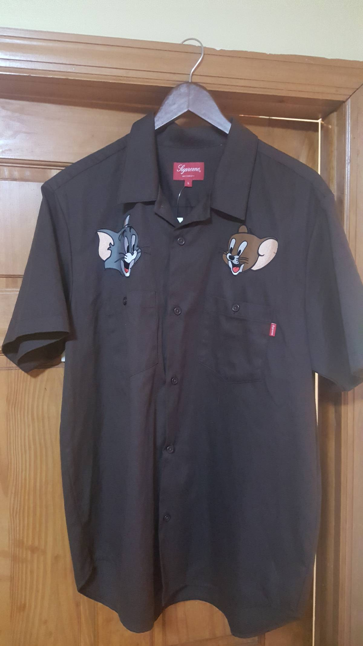 Supreme Tom Jerry Work Shirt