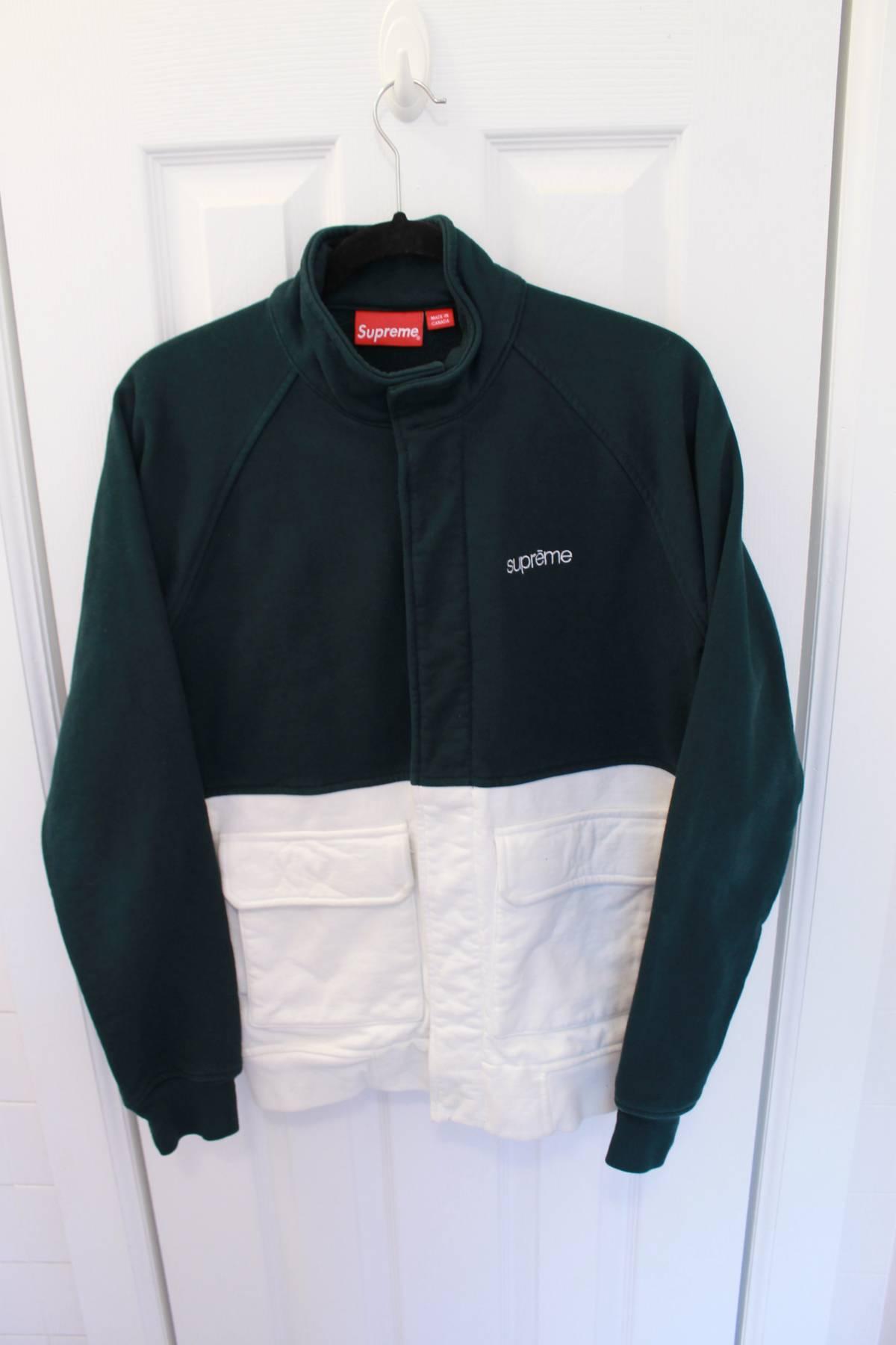 Supreme Fleece Warm Up Jacket Size M Light Jackets For Grailed