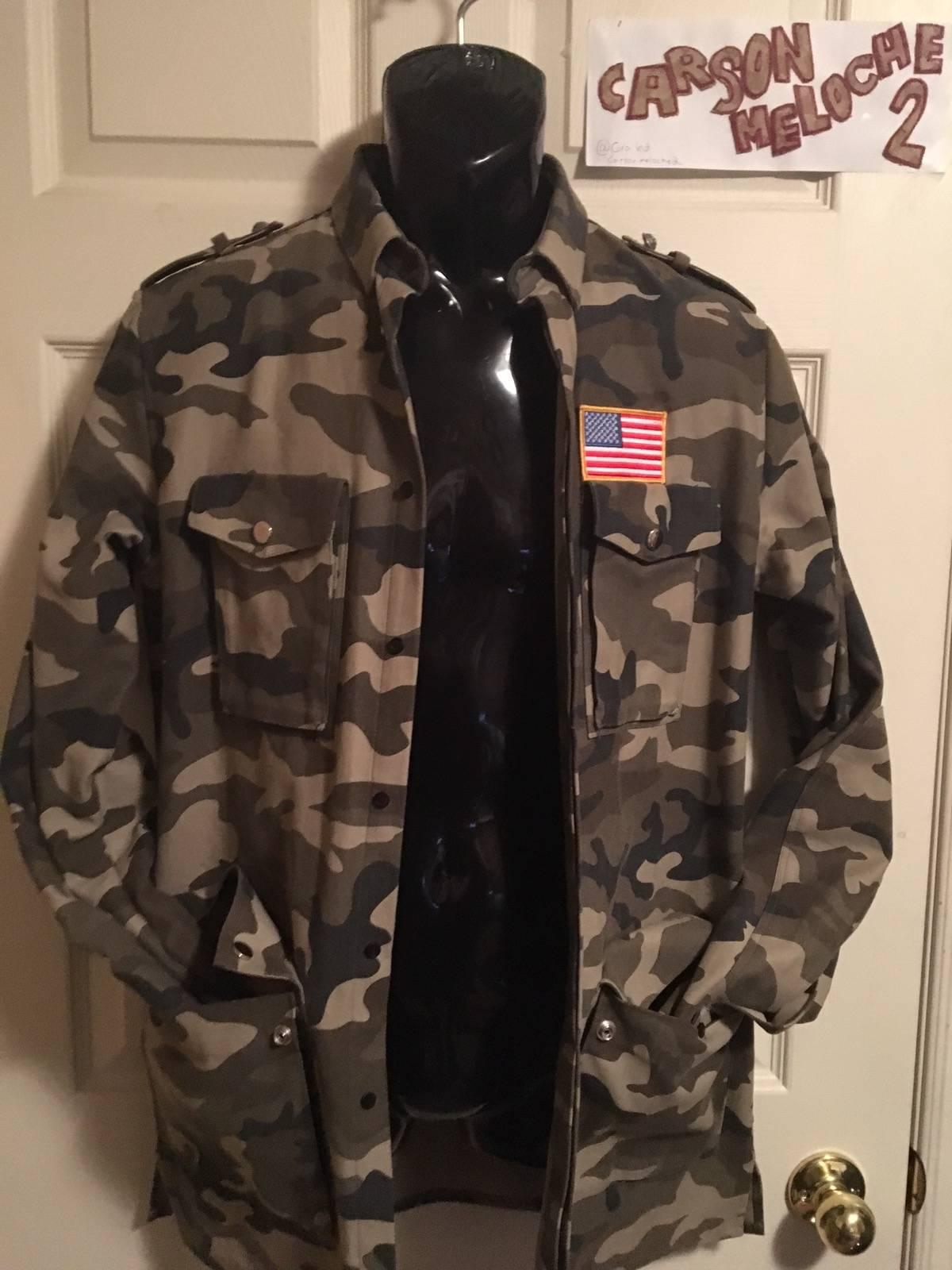 6de6ee2b Balmain Balmain Camo Jacket (size 39)   Grailed