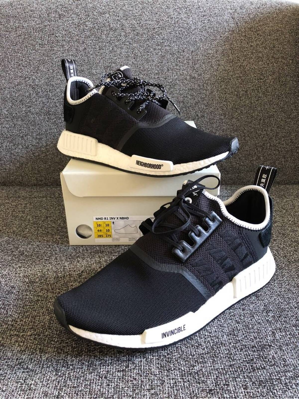 best loved 818f2 76227 Adidas New Adidas Nmd X Invincible Neighborhood Limited Size 10.5 $450