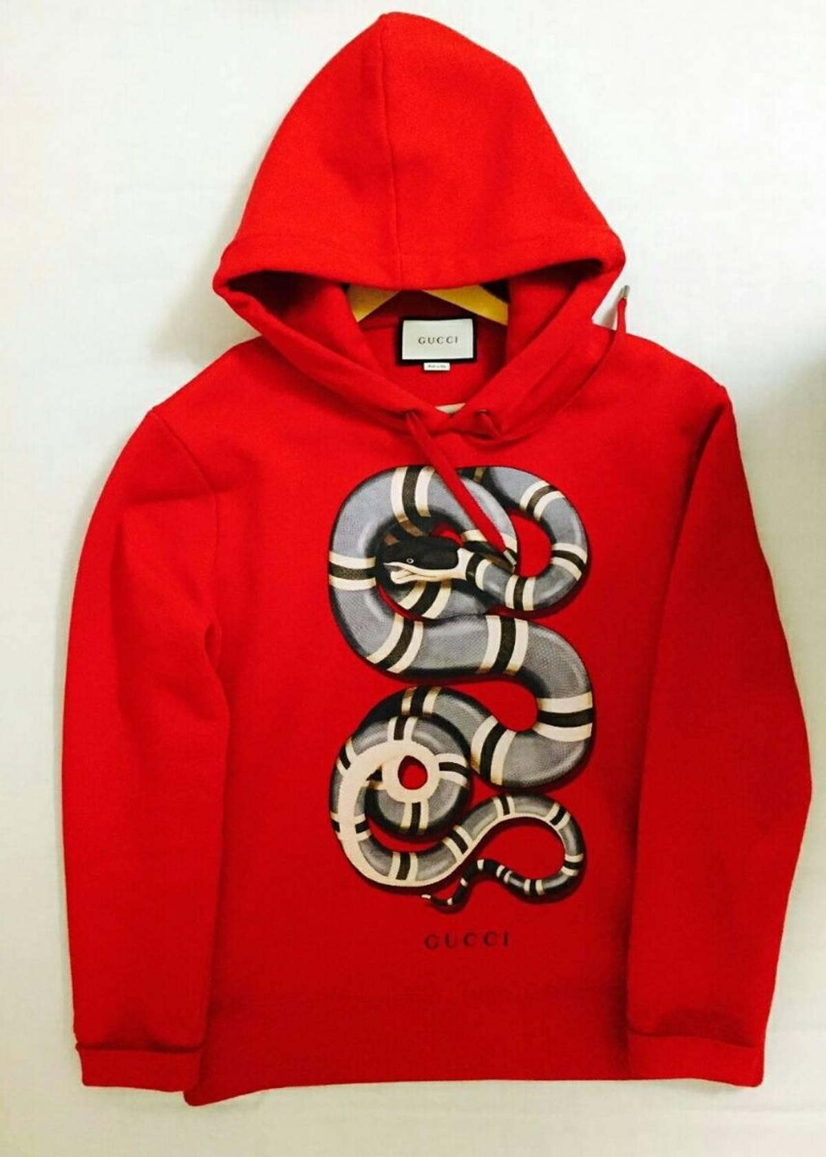 dcb44bb089d Gucci ×. Gucci snake hoodie