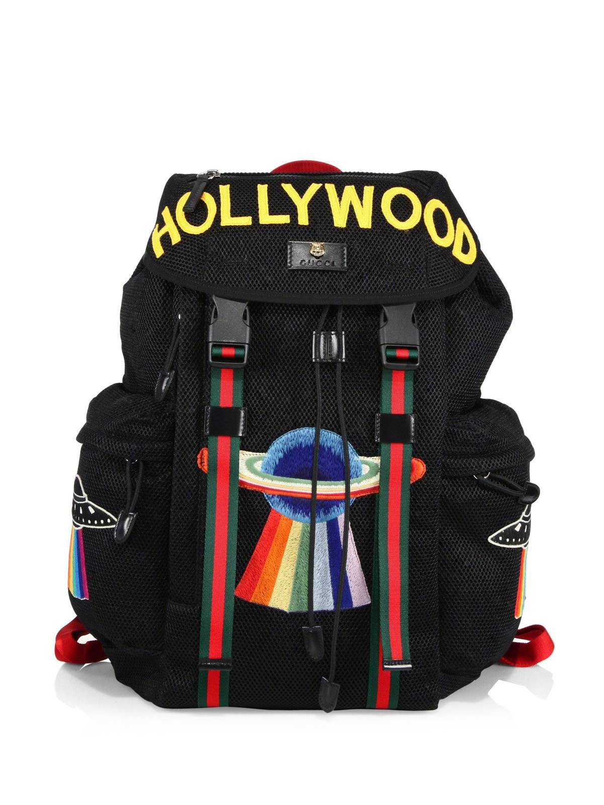 dd7ae8242c4 Gucci Gucci Backpack With Embroidery
