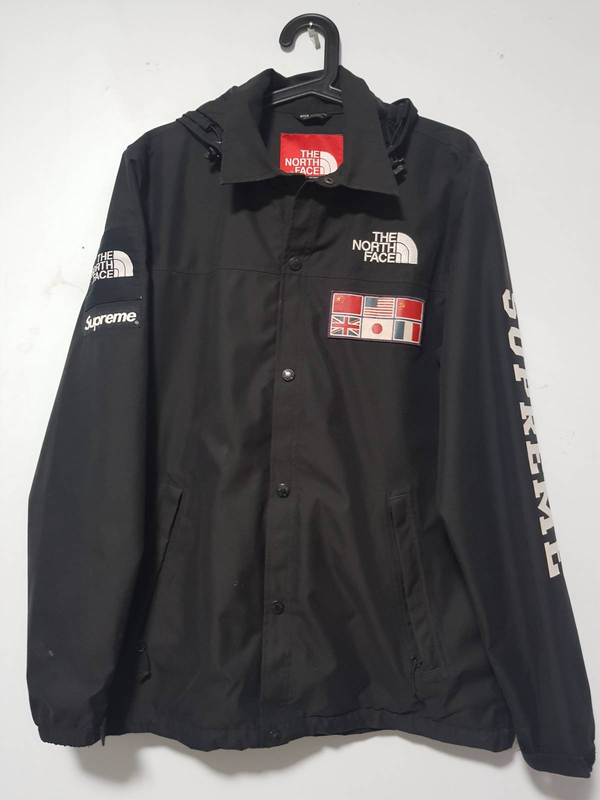 e5576ed85 Supreme × The North Face Supreme X The North Face Expedition Coaches Jacket  Ss14 Map Size M $1350