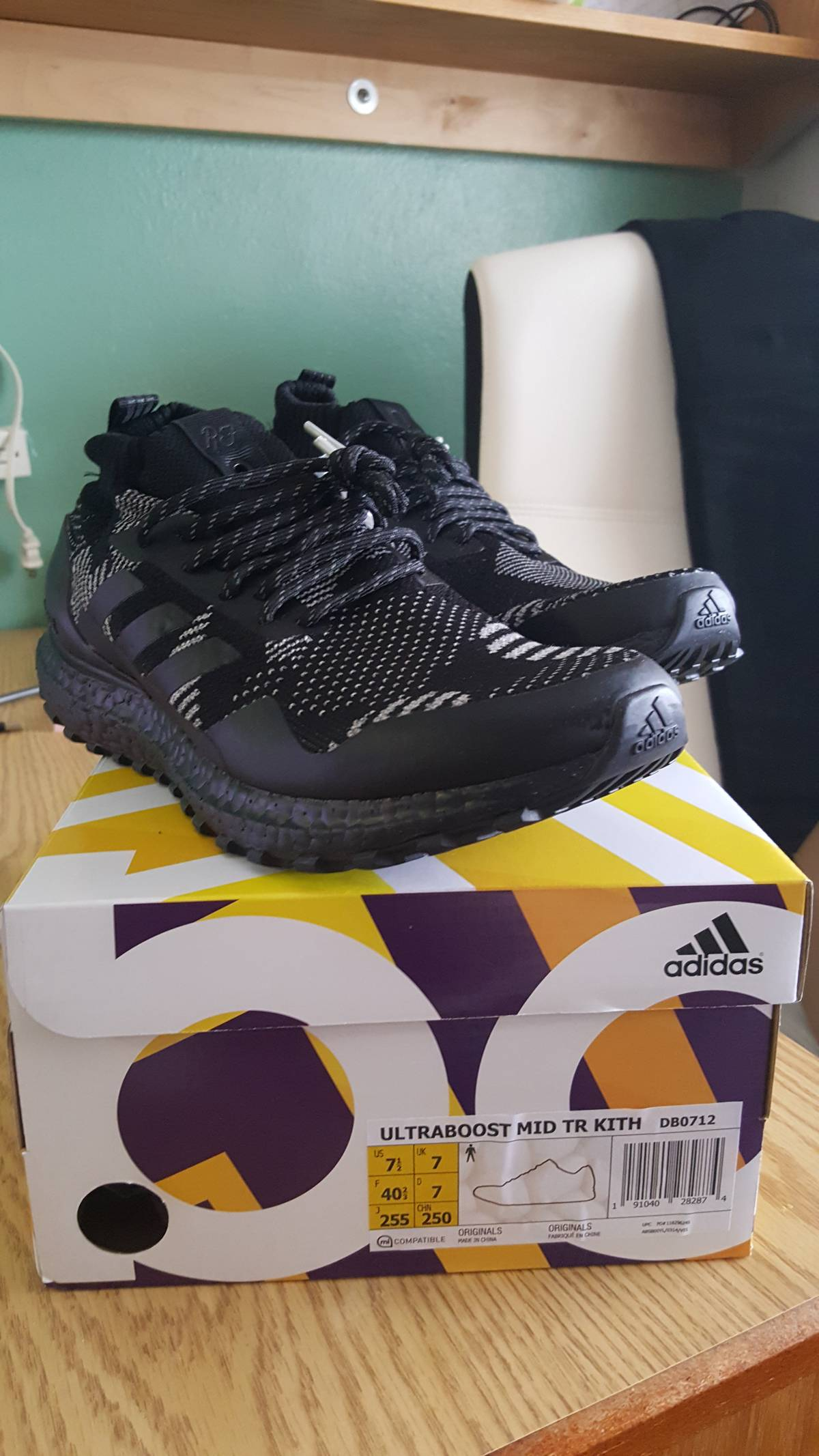 0f34f6927b2367 Adidas ULTRABOOST MID TR KITH Size 7.5 - Low-Top Sneakers for Sale ...