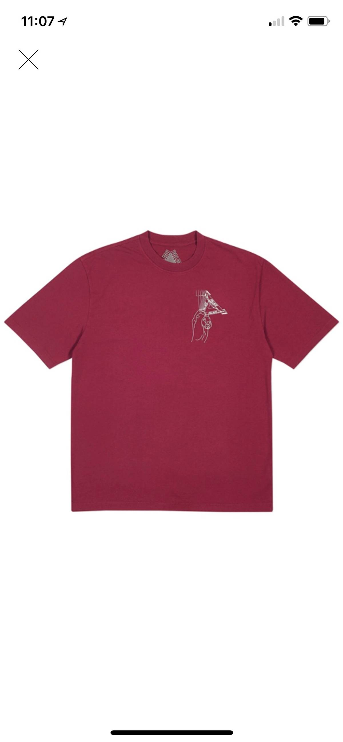 838ab5008d4276 Palace Grand Master T Shirt Cherry Red Size m - Short Sleeve T-Shirts for  Sale - Grailed