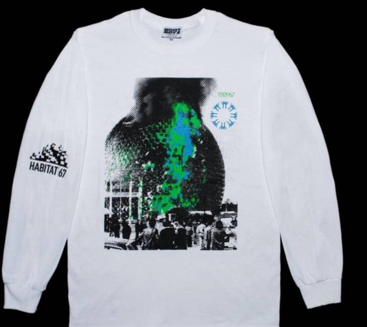 Custom Made Boot Boyz Expo 67 T Shirt Size M Long Sleeve T Shirts