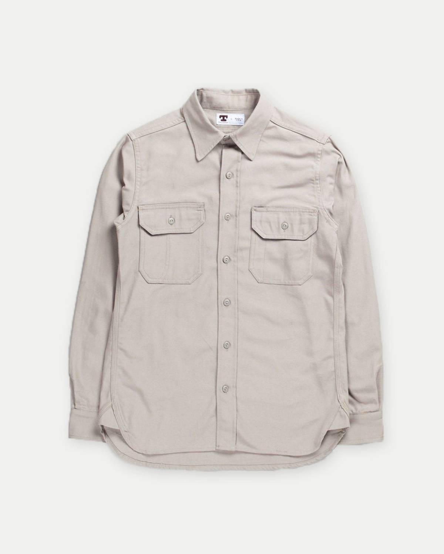 4ea3695c70f Tellason Clampdown Khaki Canvas Shirt