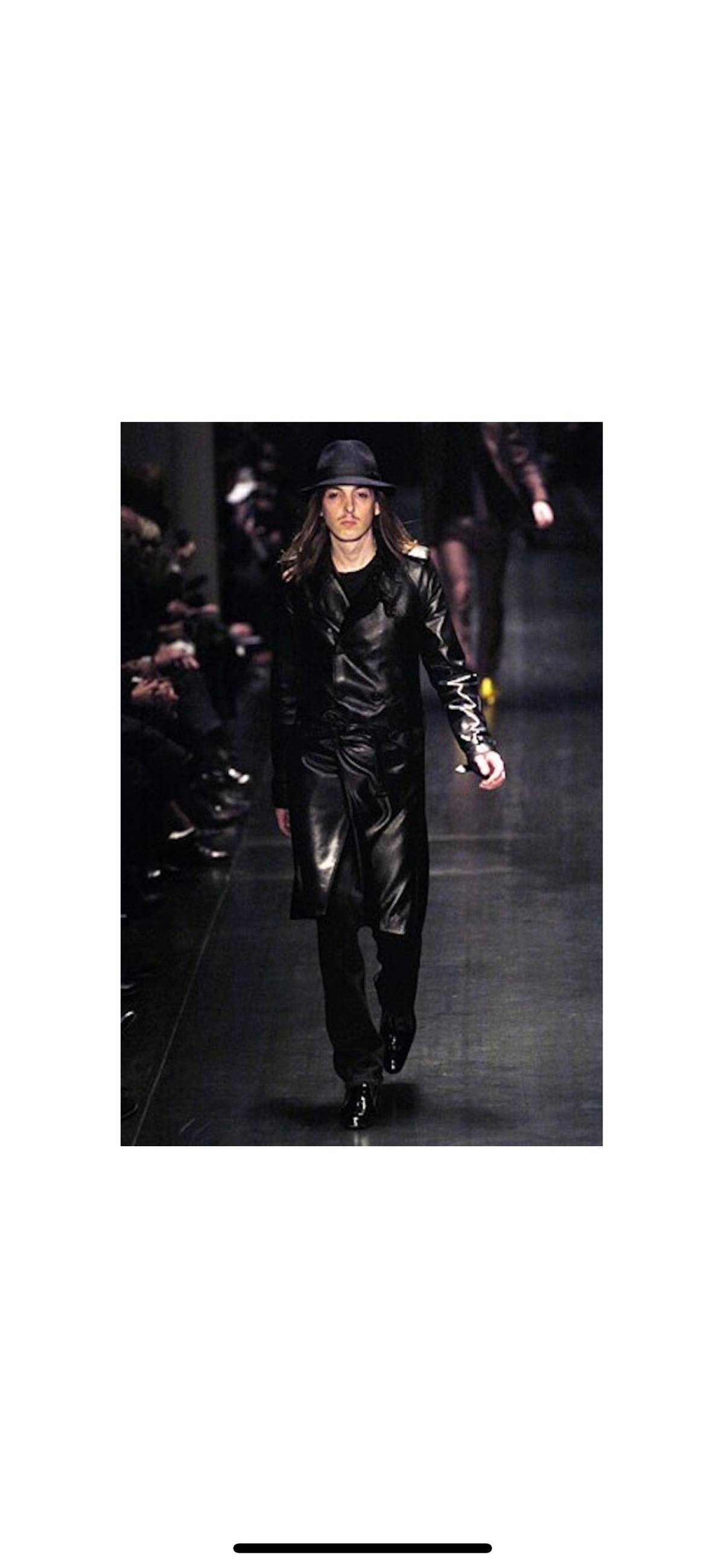 130327b25f Dior Dior Homme Leather Jacket Runway Size m - Leather Jackets for Sale -  Grailed