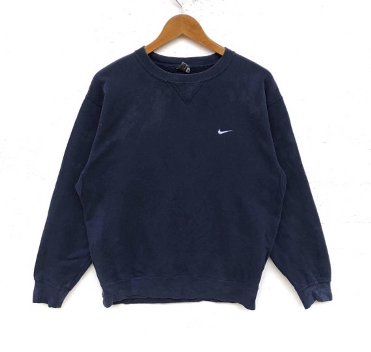 purchase cheap e4e5a a1ed2 Nike Final Drop‼️nike Swoosh Sweatshirt Small Logo Embroidery Sweat Medium  Size Jumper Pullover Jacket Sweater Shirt Vintage 90's Size M $28