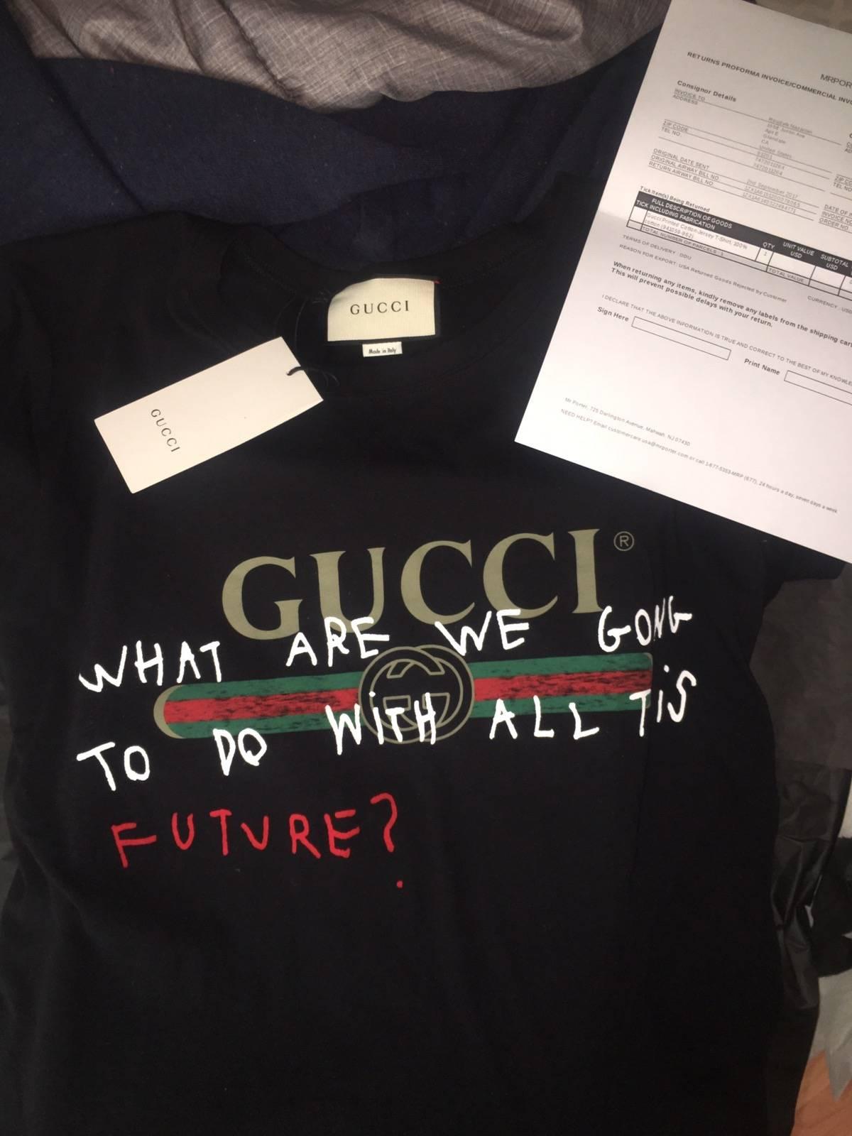 dea651362 Gucci Gucci Coco Capitan T-shirt | Grailed