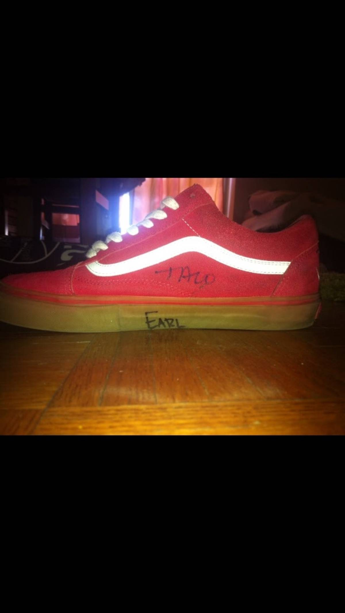 d61c958cdb10 Vans SIGNED GOLF WANG ODD FUTURE 1ST EDITION VANS Size 10 - Low-Top  Sneakers for Sale - Grailed