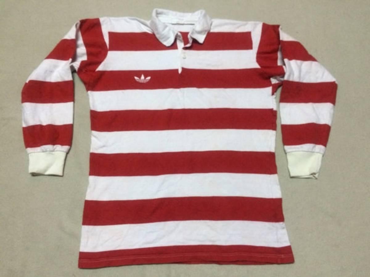 Adidas Rare 90s Vintage Adidas Stripe Red White Trefoil Sewn