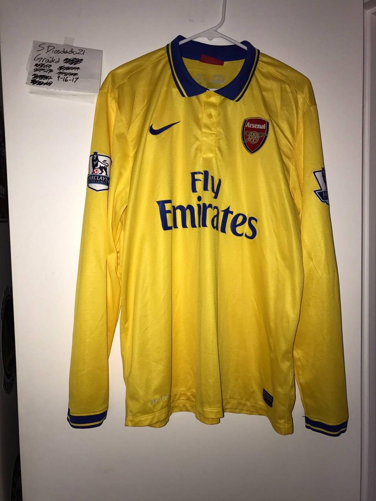 new arrival b3eb7 28fe2 Nike × Soccer Jersey Nike Arsenal Mesut Ozil Long Sleeve Jersey Size Xl $60