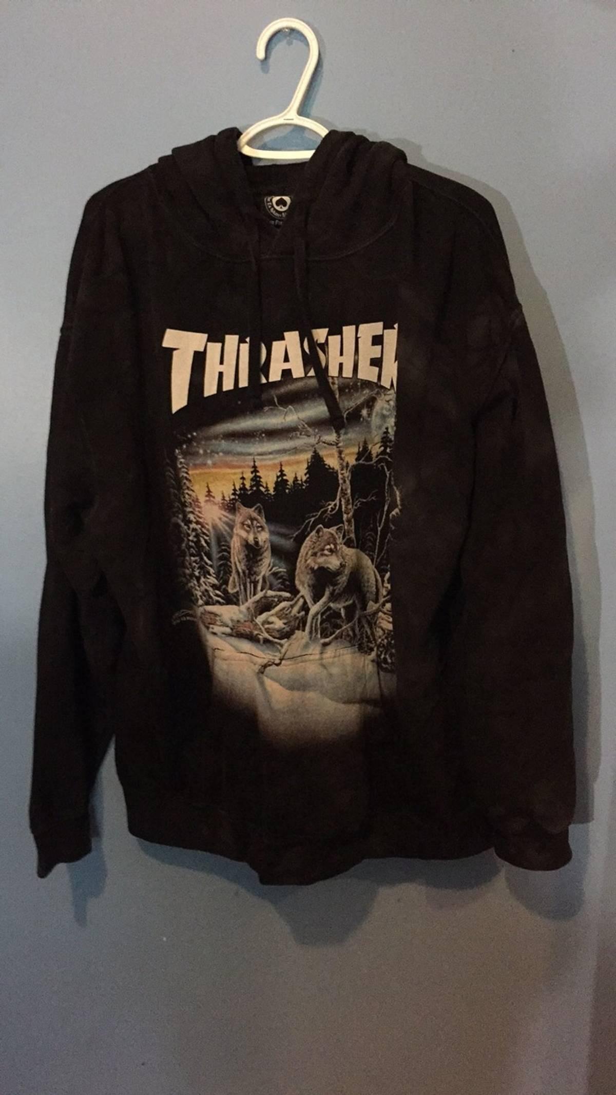 d36cdb4075d9 Thrasher Thrasher 12 Wolves Size xl - Sweatshirts   Hoodies for Sale ...