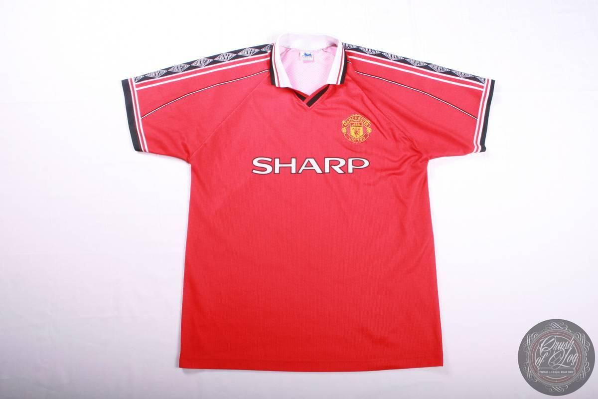 best website a5986 cd603 Vintage Manchaster United Vintage 90x Fan T Shirt Size l ...