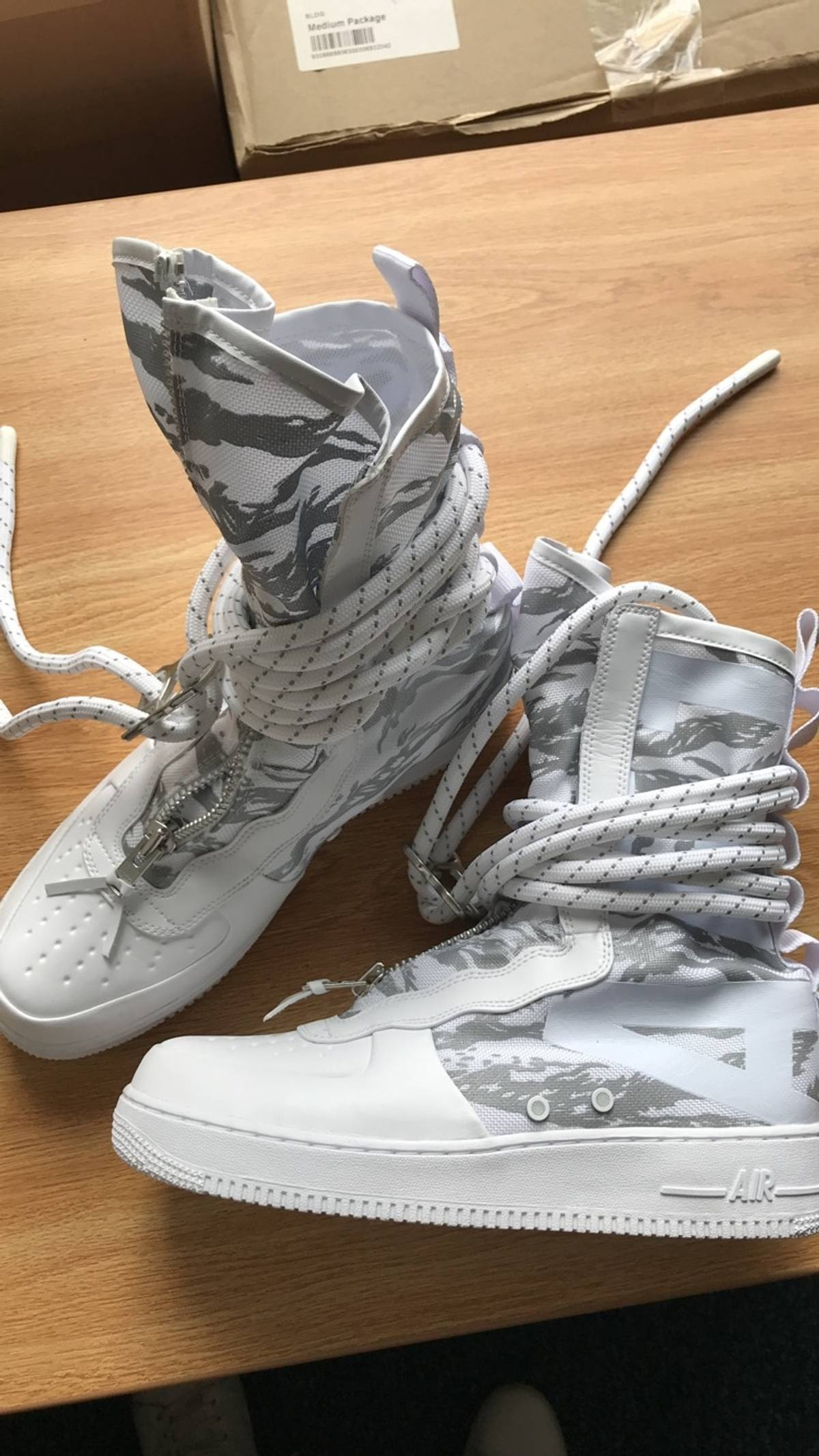 best service f64de db91d Nike ×. Nike SF Air Force One Hi Ibex