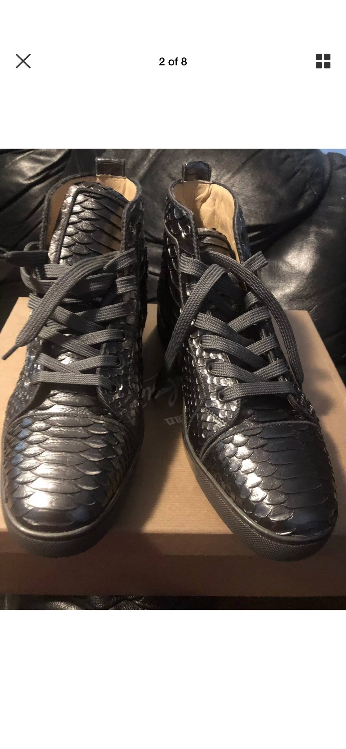 outlet store 163f1 17605 Christian Louboutin Python Christian Louboutin Men's Sneakers New With The  Box Size 13 $850