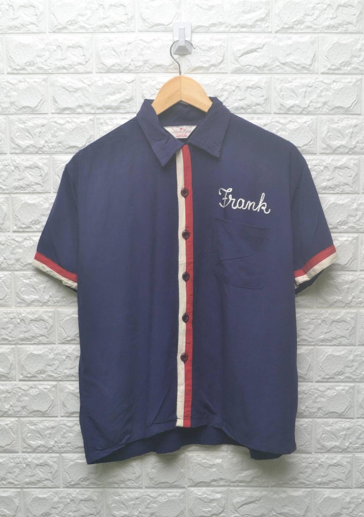 Sugar Cane Sugar Cane Style Eyes Sportswear Frank Bowling Shirt Size