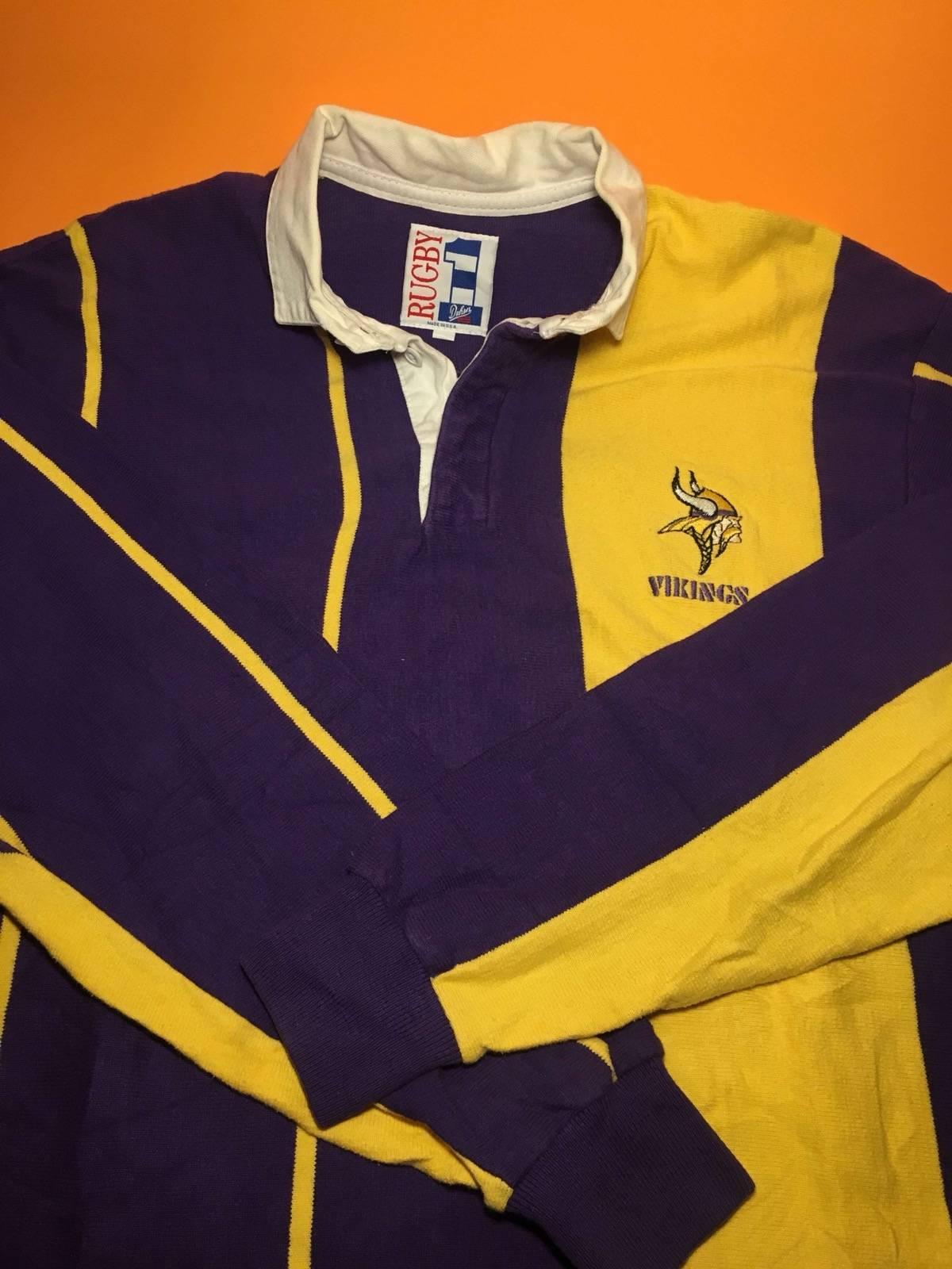 Vintage Vintage Minnesota Vikings Longsleeve Polo Size M Polos For