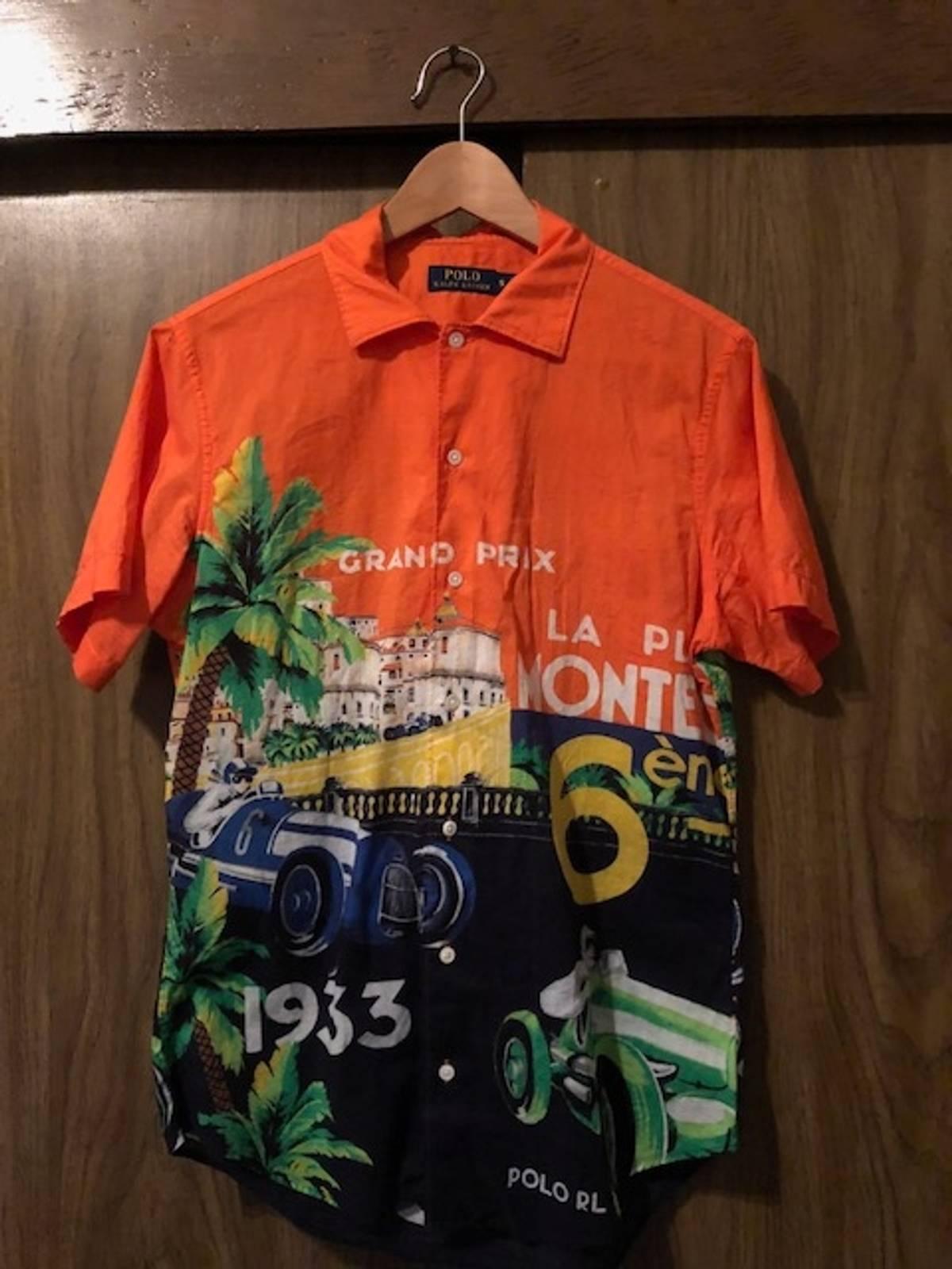 3c9ec1c7d0d Polo Ralph Lauren Monte Carlo Grand Prix Button Up Size s - Shirts ...