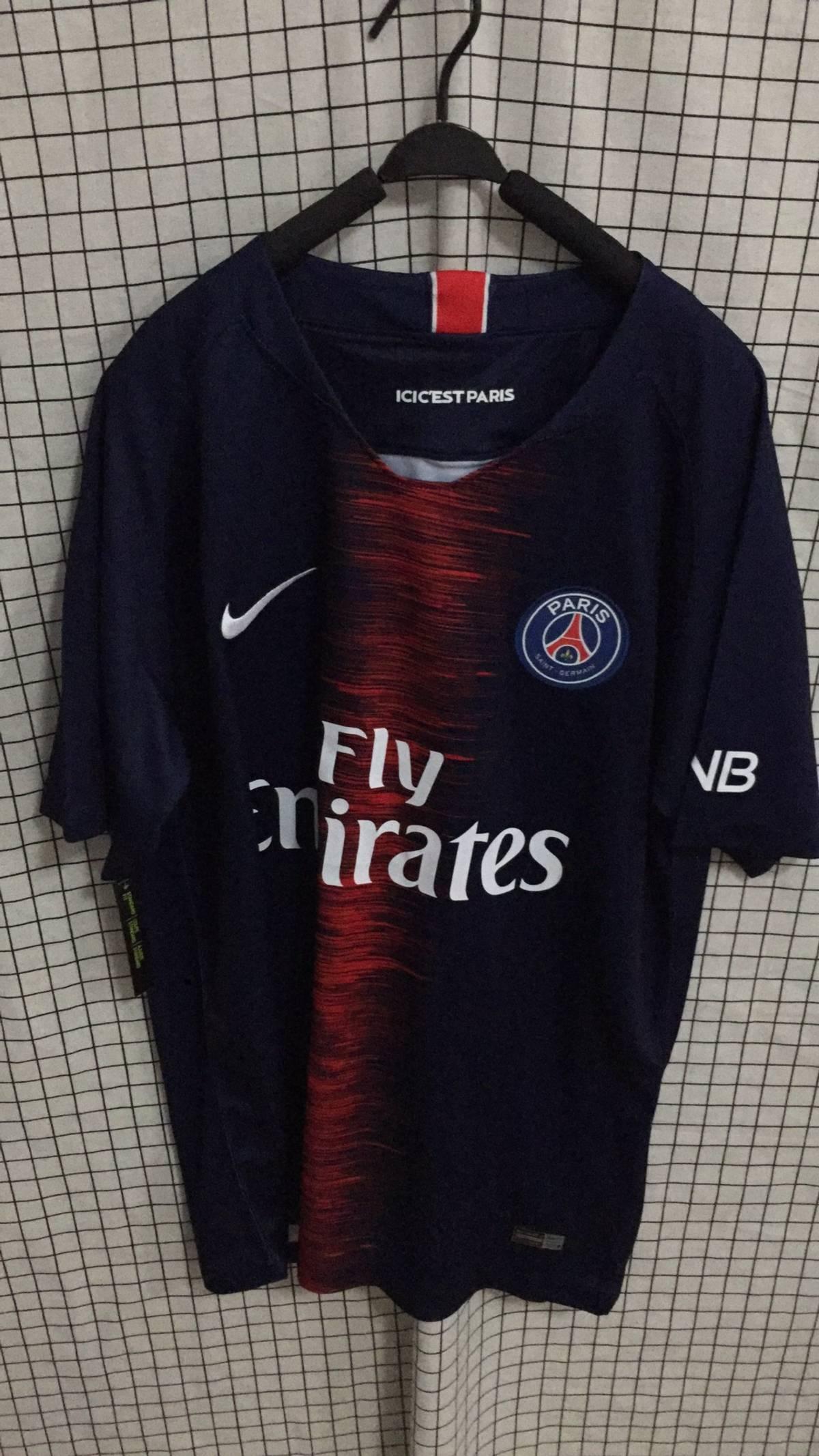 competitive price 24220 a64ac Nike × Soccer Jersey Kylian Mbappé #7 Soccer Jersey Size L $1