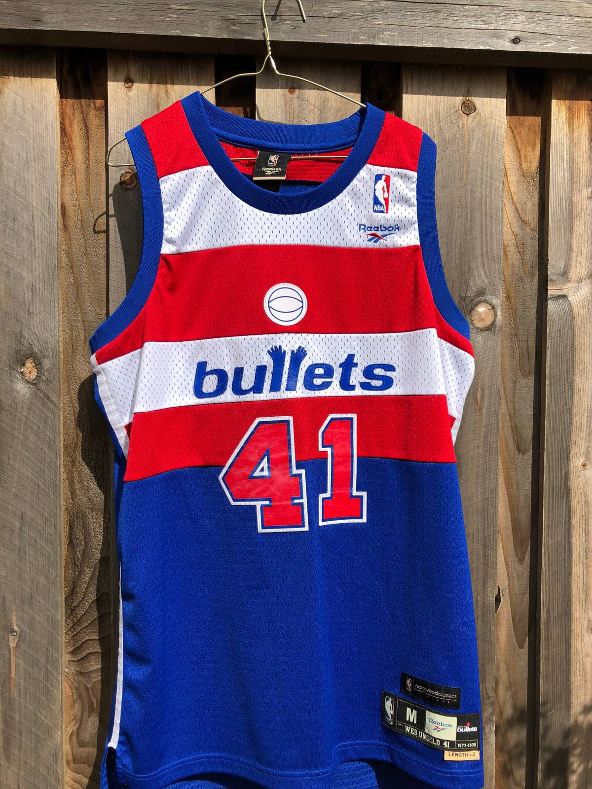 0eb3fc21035 ... reduced reebok hardwood classics bullets jersey wes unseld size m  jerseys for sale grailed 28257 13e4c