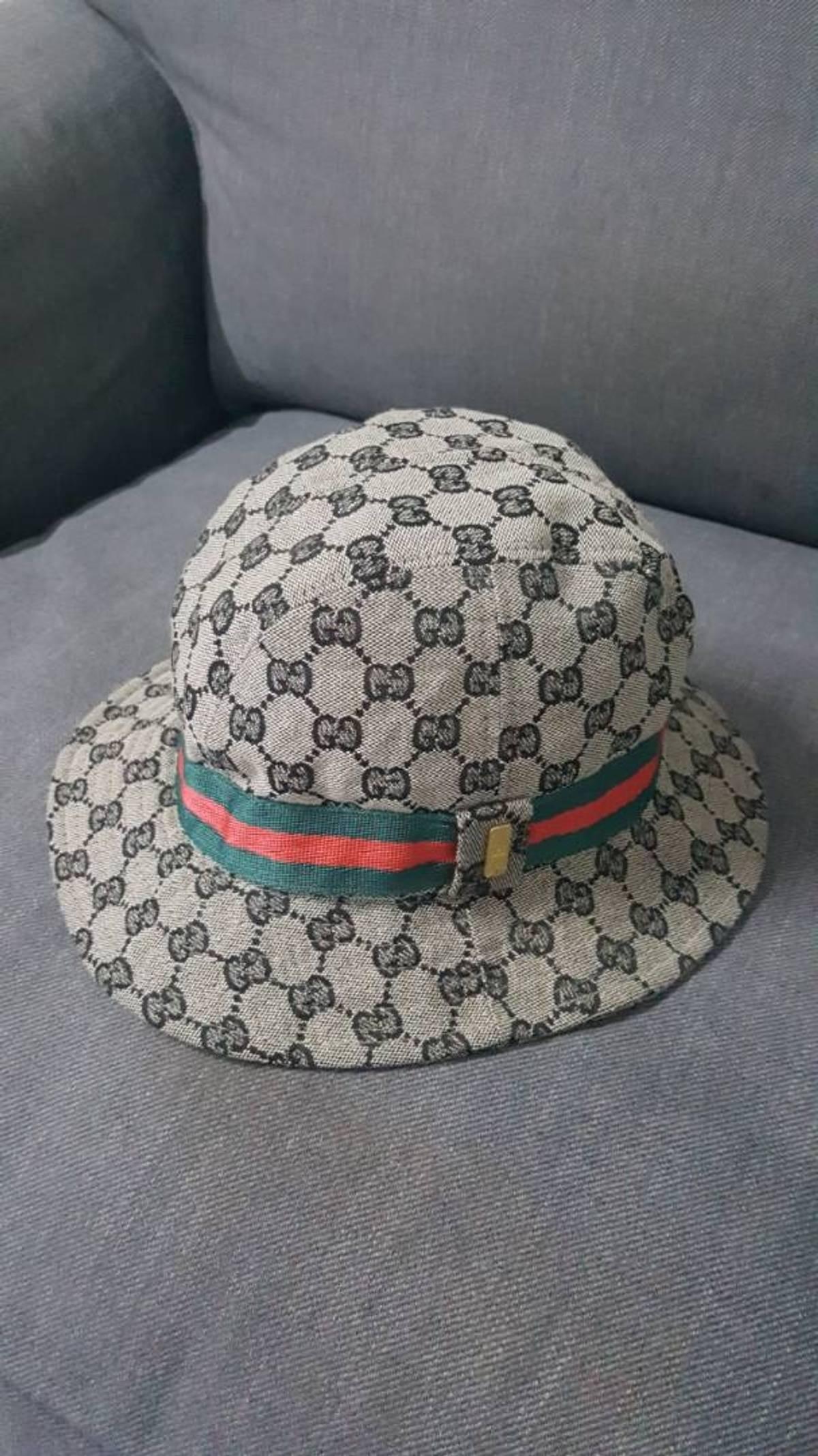 642dbba4 Gucci Authentic Gucci Bucket Hat Gc Monogram Fedora   Grailed