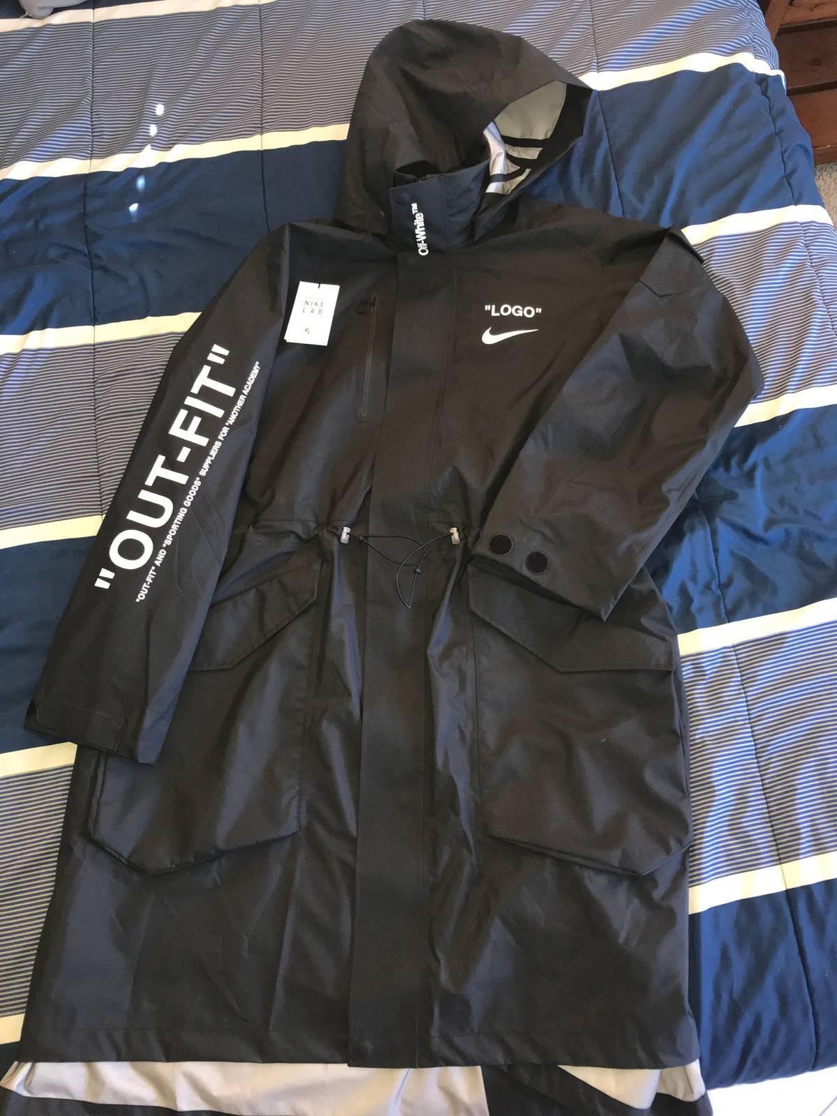 e044242001f93 Nike × Off-White × Nike ACG ×. Nikelab x OFF-WHITE Mercurial NRG X Jacket  Black