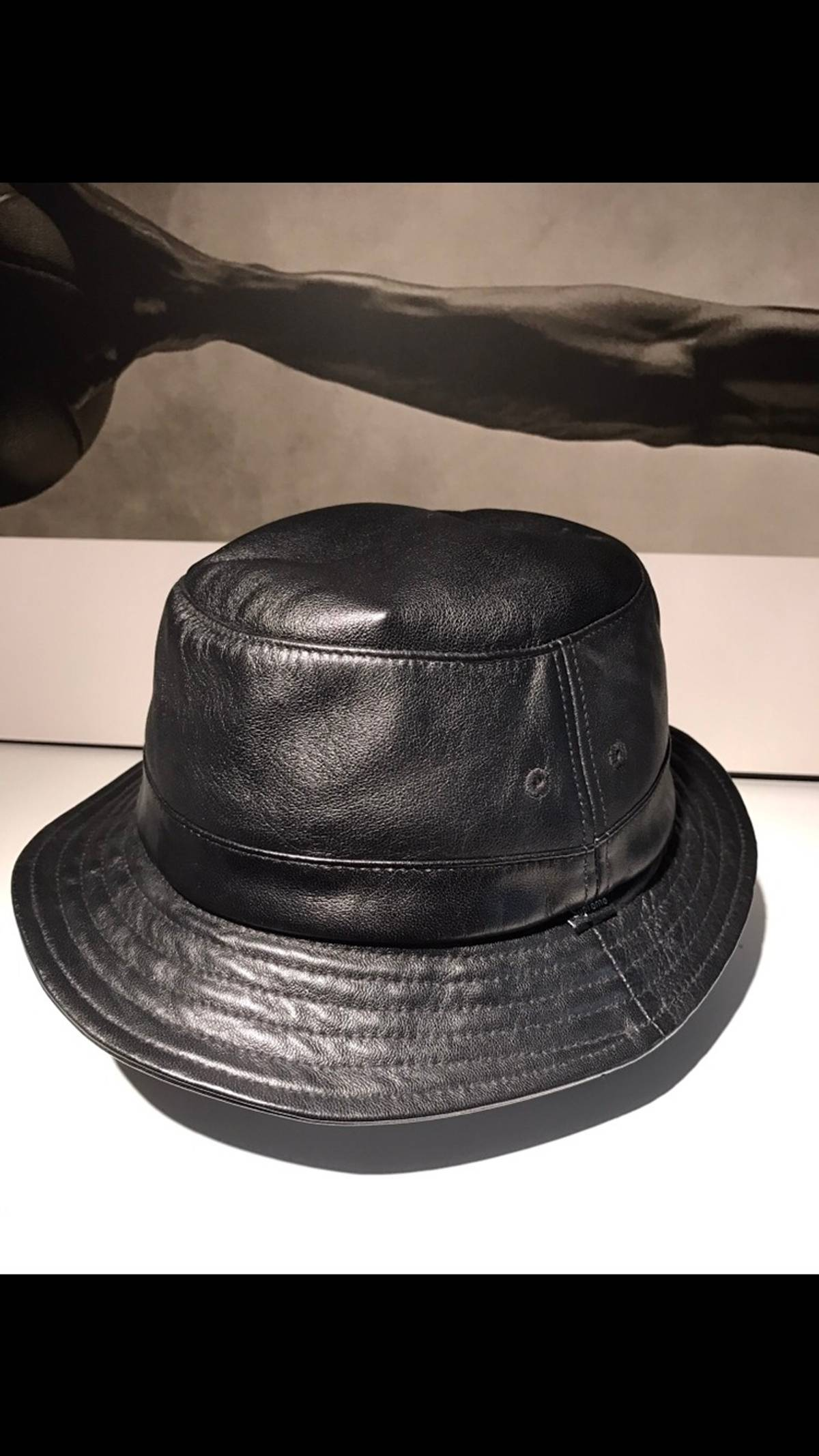 c87c116ba745df Supreme Supreme Leather Bucket Hat | Grailed