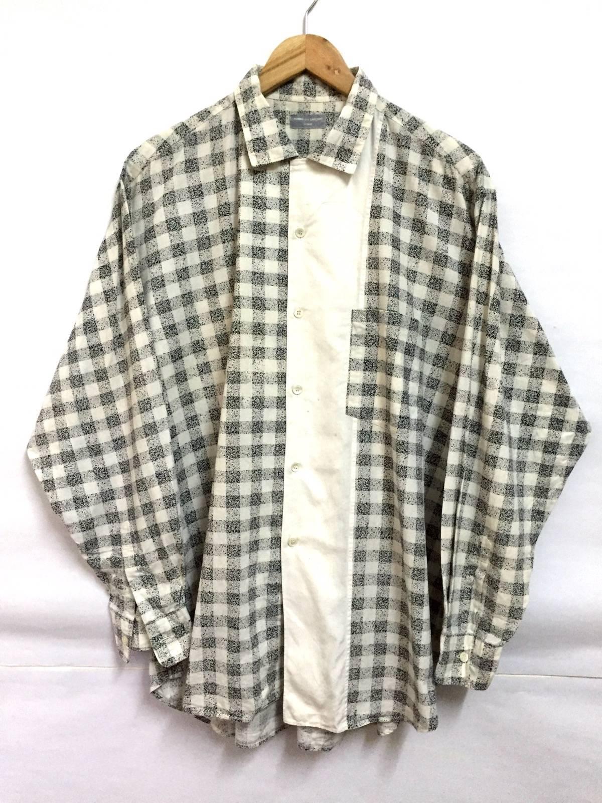 Black And White Checkered Shirt Plus Size | Lixnet AG