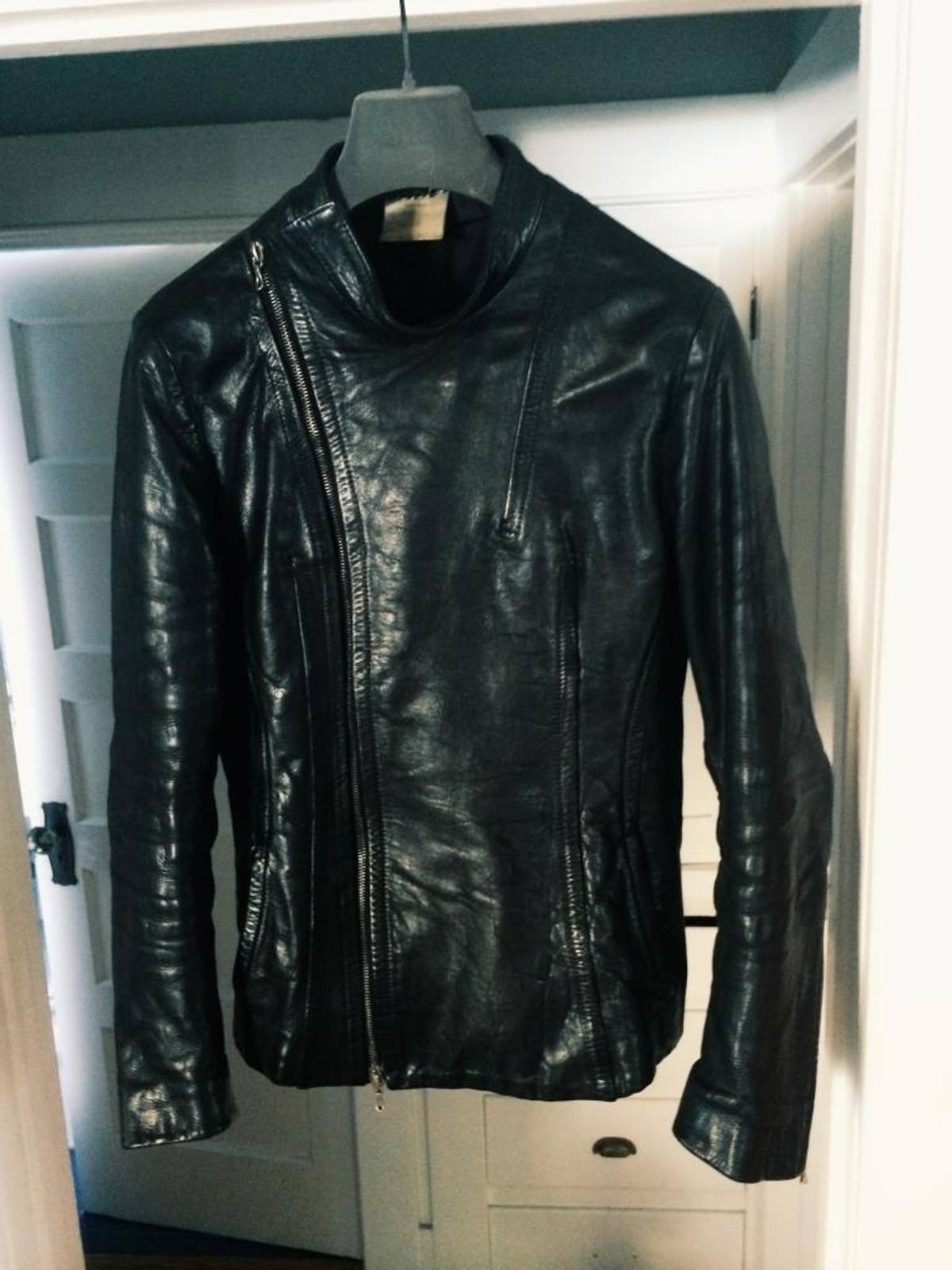 julius fencing leather jacket size s leather jackets for