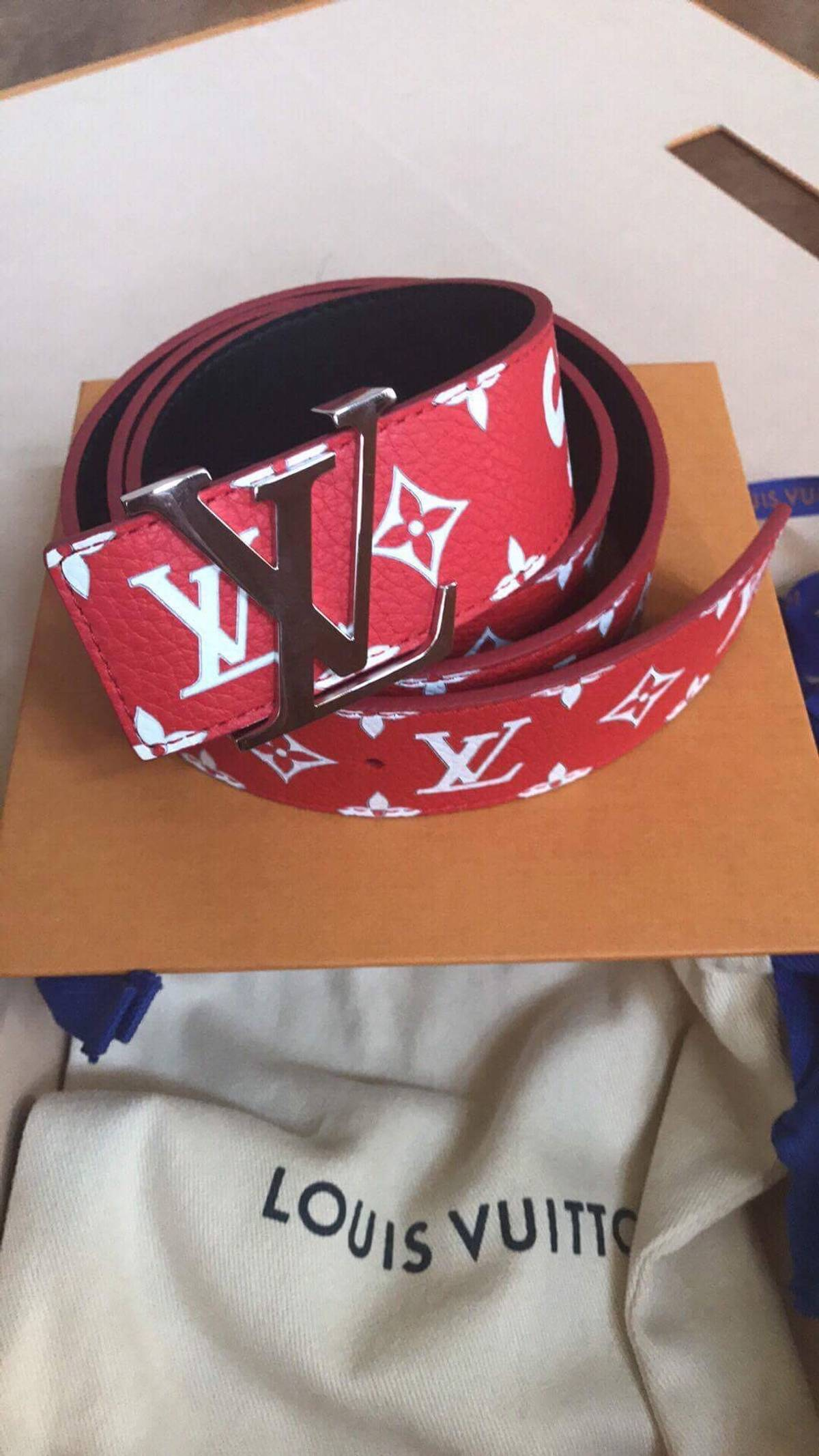 039022a9d6bf Supreme Supreme X Louis Vuitton Collab Belt Size 34 - Belts for Sale ...