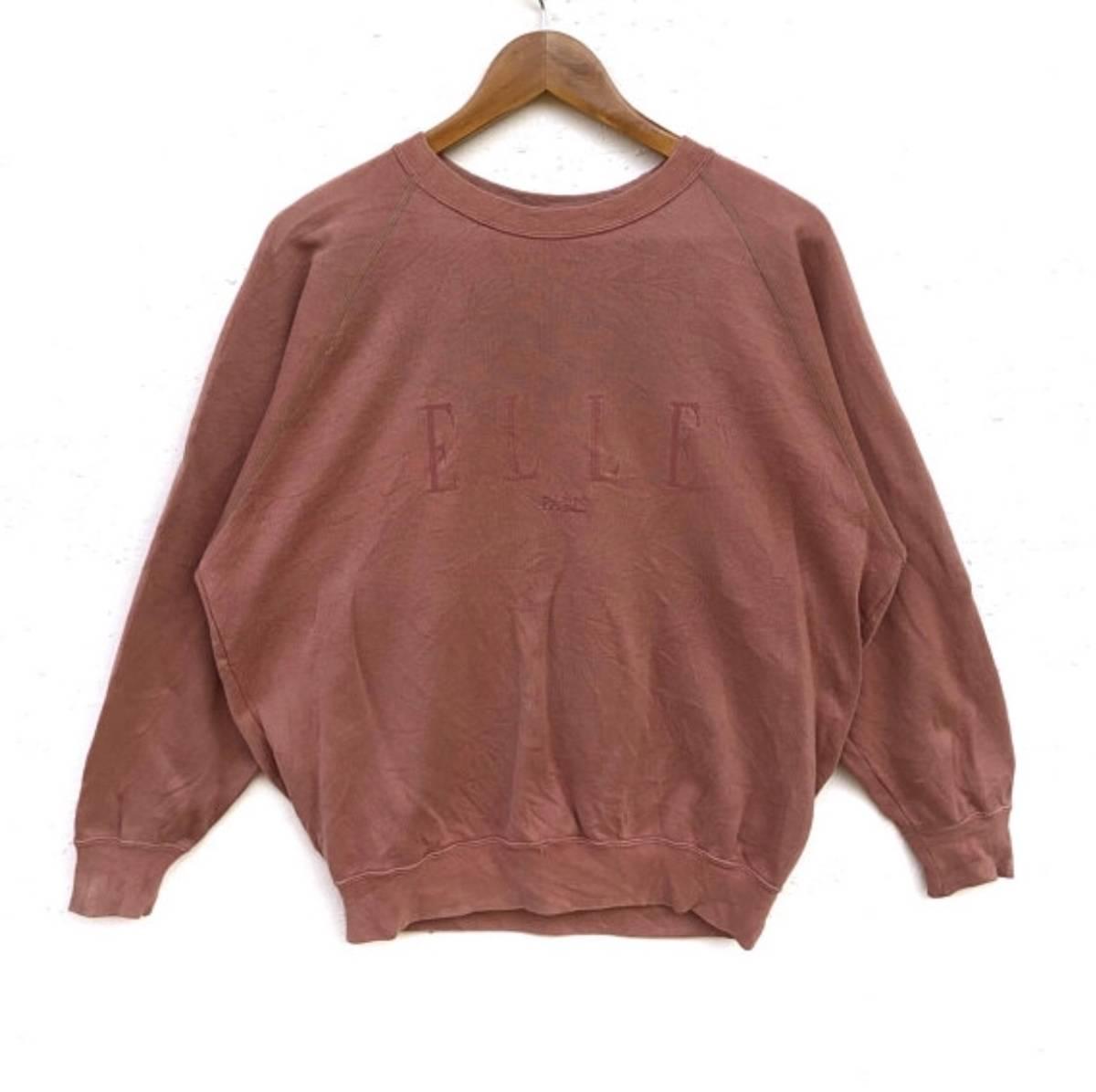 bfa9396fa2ed Vintage FINAL DROP‼️Elle paris Sweatshirt Big Logo spell out Embroidery  Sweat Medium Size Jumper Pullover Jacket Sweater 90 s Size l - Sweatshirts  ...