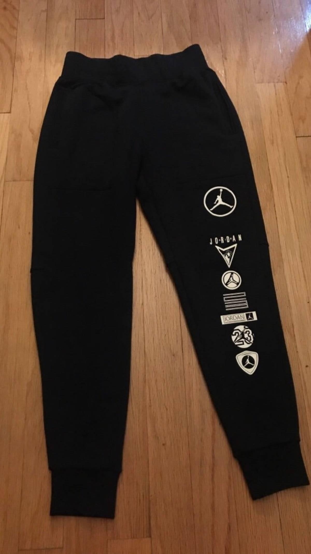 968b64f8987711 Jordan Brand Nike Air Jordan Sweatpants In Black Size M