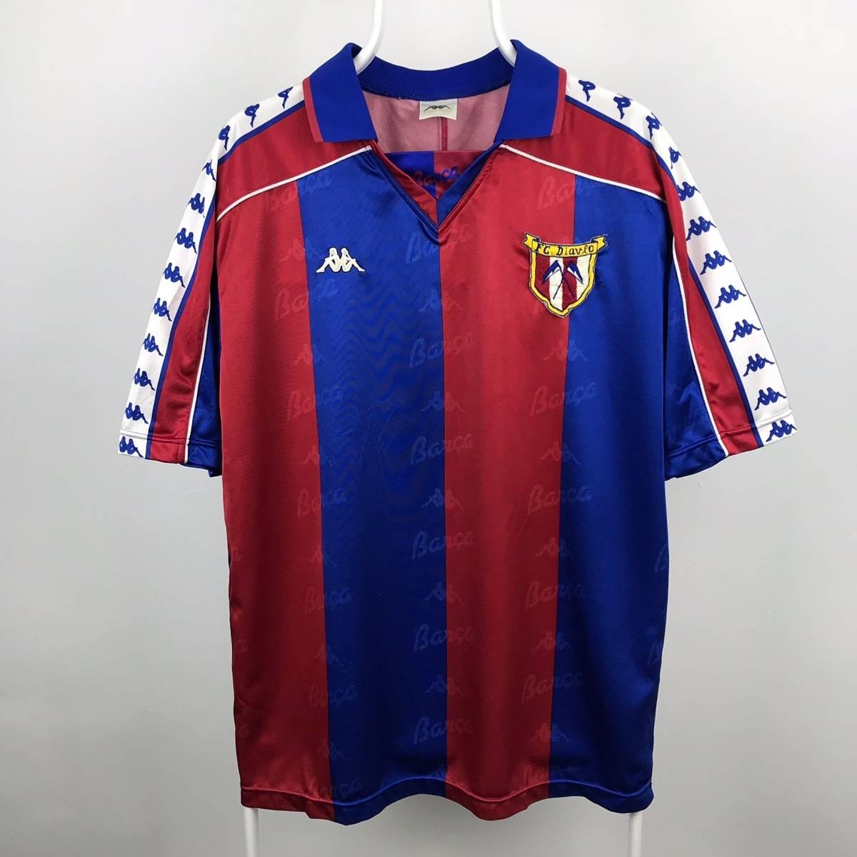 size 40 e8c94 24873 Kappa × Vintage 🍎Free Shipping🍎Vintage Kappa Barcelona Jersey As227 Size  L $72